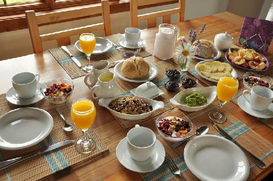 Fox Hill Bed & Breakfast: desayuno Foxhill