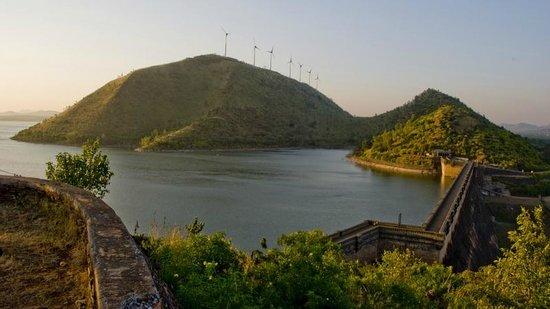 Chitradurga, الهند: Vani Vilas Sagar Dam