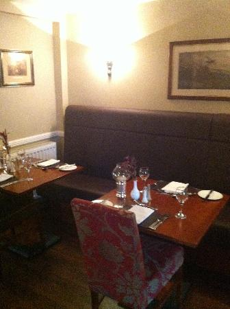 The Old Hall Hotel : Restaurant