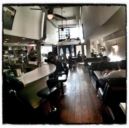 Acme Cafe: Interior.