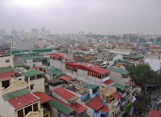 Quoc Hoa Hotel Hanoi: Hanoi morning from hotel