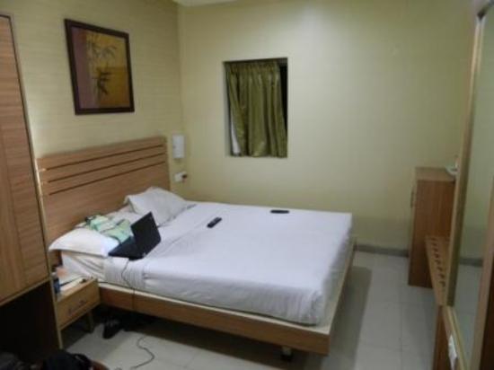 Hotel Madhav International: a deluxe room