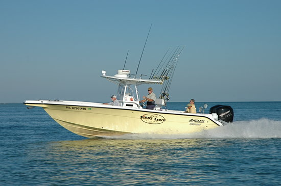 First love charter fishing review of l l first love for Duck key fishing charters