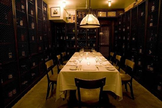 aretskys patroon private dining room wine cellar - Private Dining Rooms
