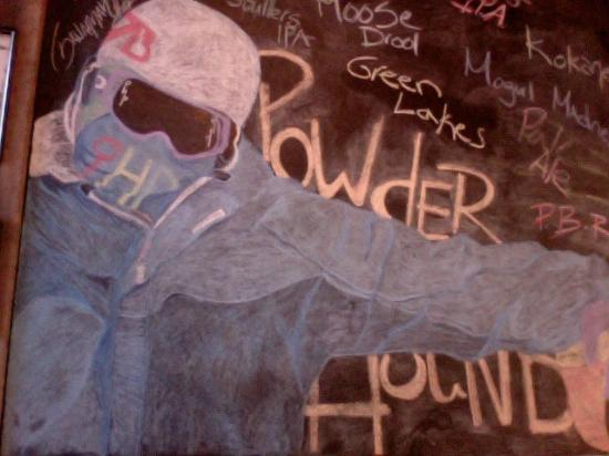 Powder Hound Pizza : Local Art