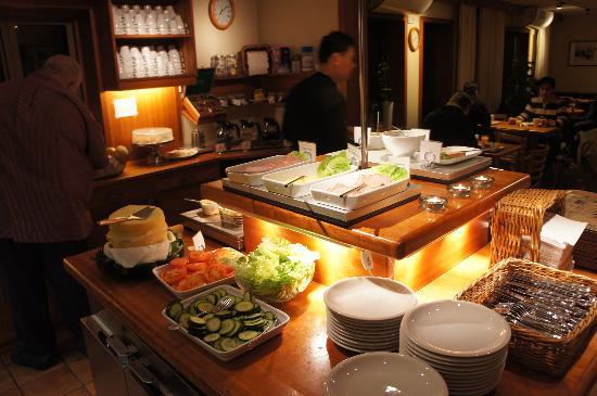 Hotell Conrad: breakfast