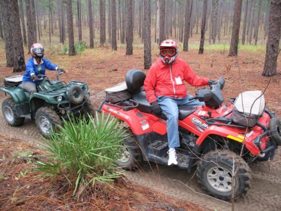 ATV Off-Road Adventure Tours: Slash Pine scrub woodland