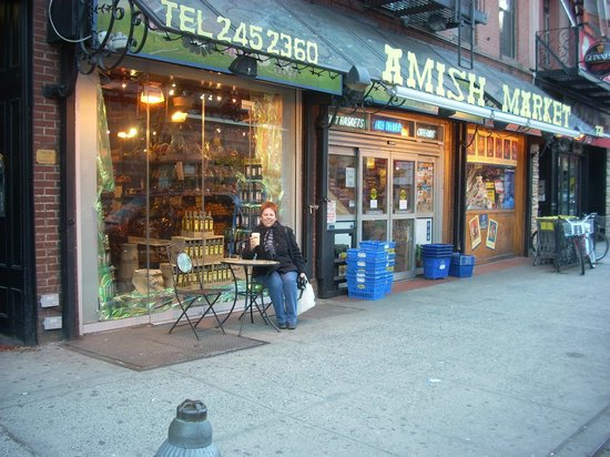 Amish Market East: The Amish Market at Ninth Avenue at 50th Street is another branch of this firm.