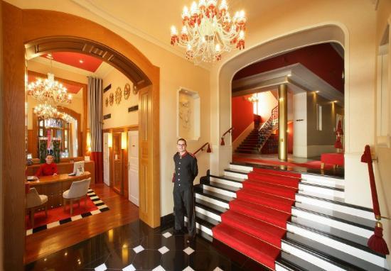 Mamaison Riverside Hotel Prague: Lobby Reception