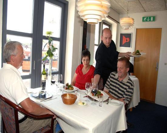 Roslev Kro: Restaurant