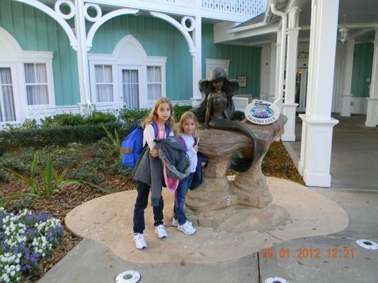 Disney's Beach Club Villas: la entrada a las Villas
