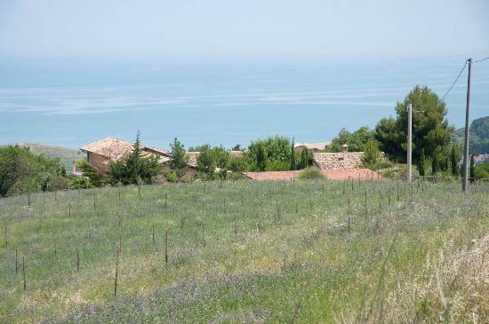 Silvi Marina, Italie : De zee, de bergen...en Le Macine!
