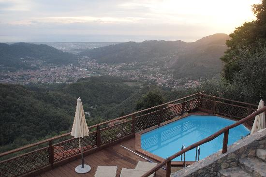 Napiaia Bed & Breakfast: Pool