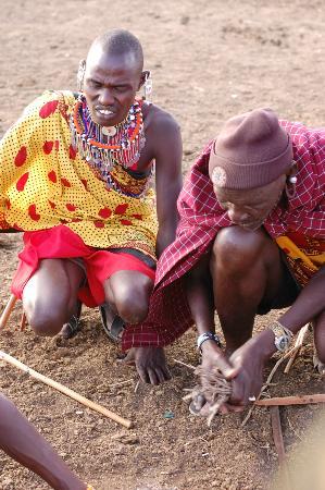 Mara Intrepids Luxury Tented Camp: masai