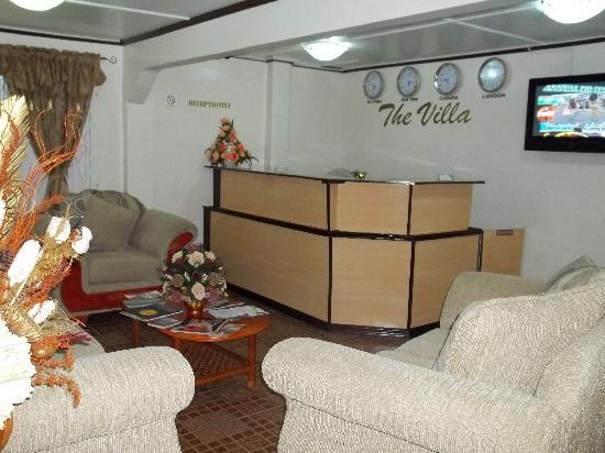 The Villa: Receptionist