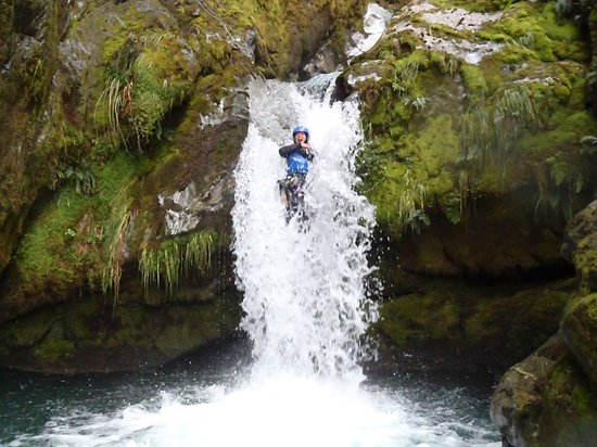 ‪Canyoning Queenstown‬