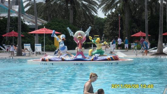 Jazz Inn Building Picture Of Disney 39 S All Star Music Resort Orlando Tripadvisor