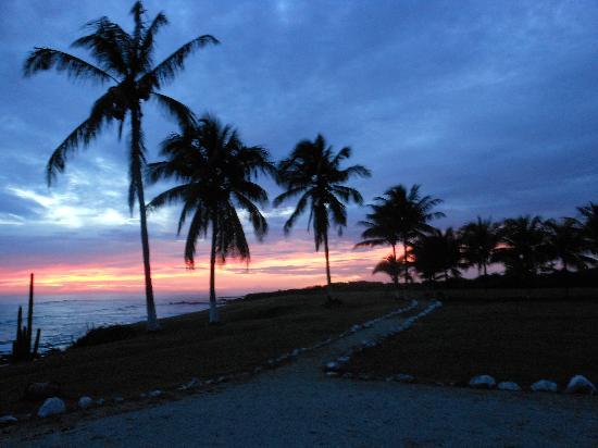 Hotel Iguanazul: Sunset