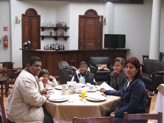 Hotel Casa de Guadalupe: la hora del desayuno