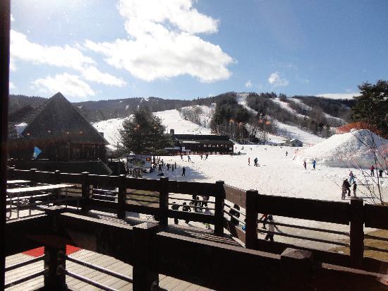 Gunstock Mountain Resort: View from Lodge