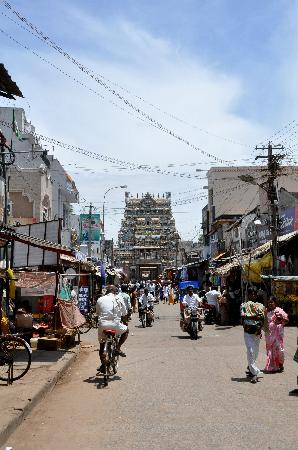 Sri Ranganathaswamy Temple: Llegada al templo