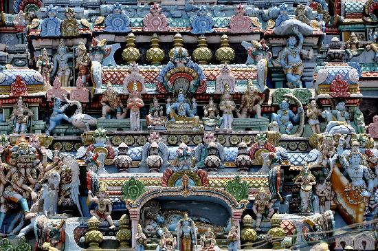 Sri Ranganathaswamy Temple: Divinidades