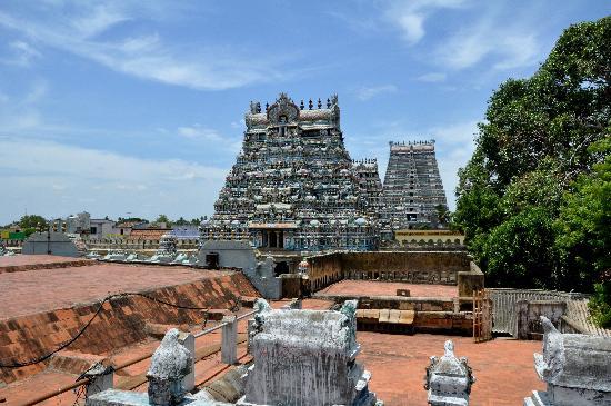 Sri Ranganathaswamy Temple: Vistas desde azotea