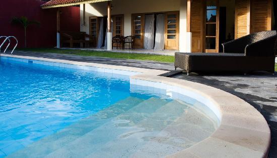 Villa Pondok Terra Yogyakarta: Villa Diamond: Beautiful swimming pool