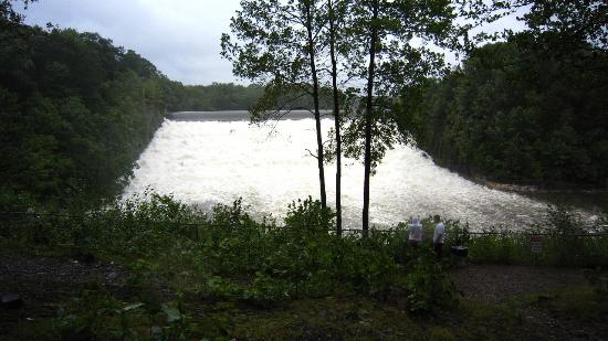 Dam Falls at South Park Road