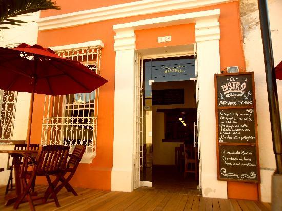 Restaurante El Bistro: nuestro local