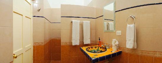 Hotel del Peregrino: Bathroom
