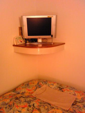 Hotel Ace Morioka: TV 小さいが寝転んで見られる