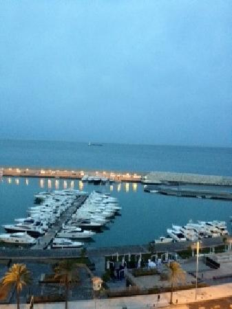 Four Seasons Hotel Beirut: The View from 705