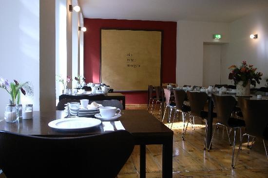 Hotel Johann: 静かな朝食部屋。
