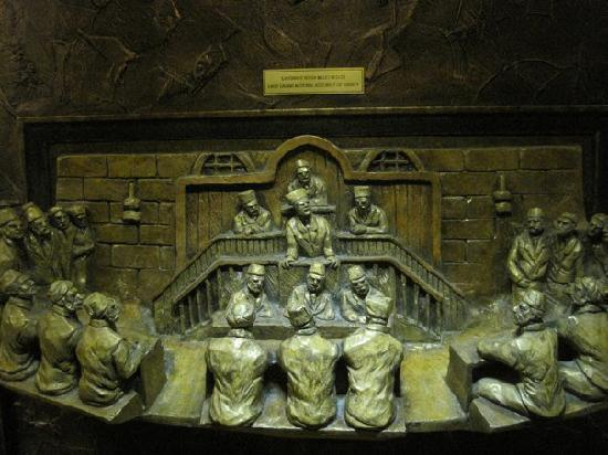 Gaziantep Castle : Some of the bronze plates that tell the story of Antep's role in the War for Turkish Independenc