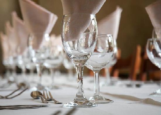 Chateau de la Fregeoliere: dining table