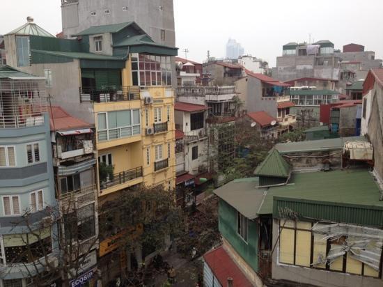 Hanoi Century Hotel: view from balcony