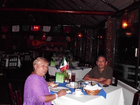Hotel Nututun Palenque: se come rico