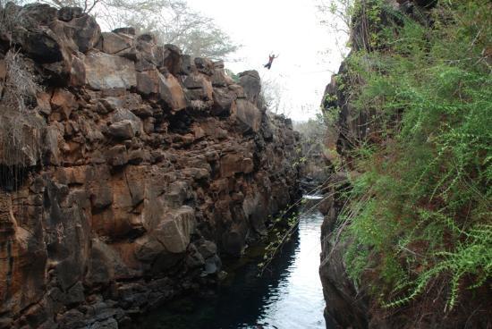 Galapagos Island Hotel - Casa Natura: THE BIG JUMP ISLA SANTA CRUZ