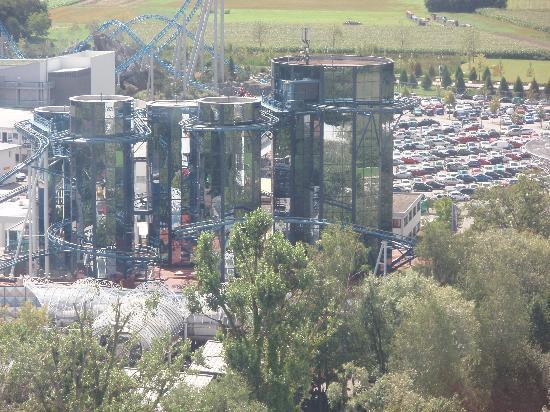 Europa-Park: Euromir vue de la tour