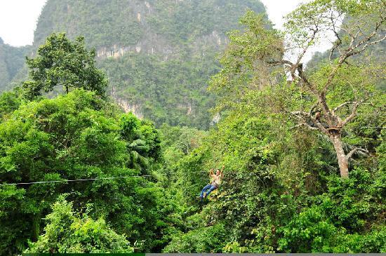 Tree Top Adventure Park Krabi: Incredible views!
