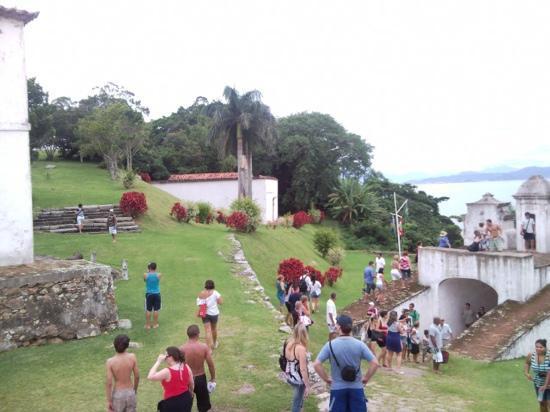 Santa Cruz de Anhatomirim Fortress: vista parcial