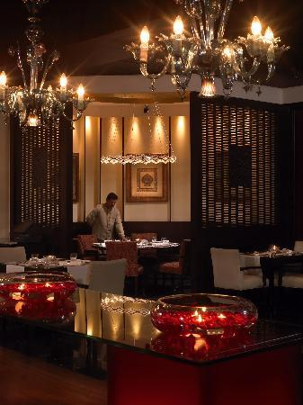 Private Dining area at Jamavar