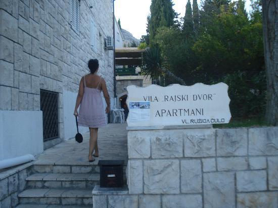 Villa Rajski Dvor Apartments: La Villa di Bol
