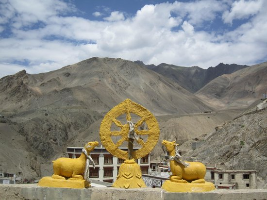 Lamayuru: the gompa
