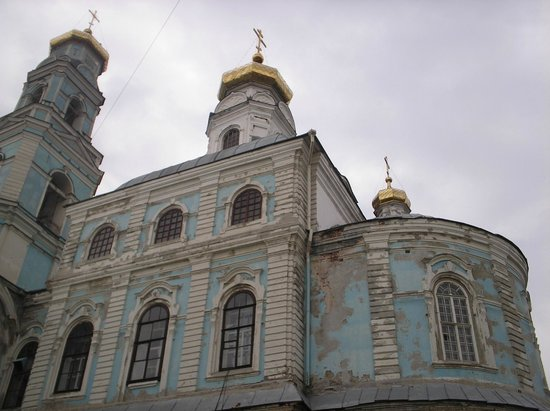 Iekaterinbourg, Russie : The Church of Ascension before reconstruction
