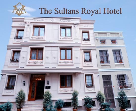 Sultans Royal Hotel: Exteriour View
