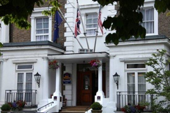 Best Western Swiss Cottage Hotel : Hotel Entrance