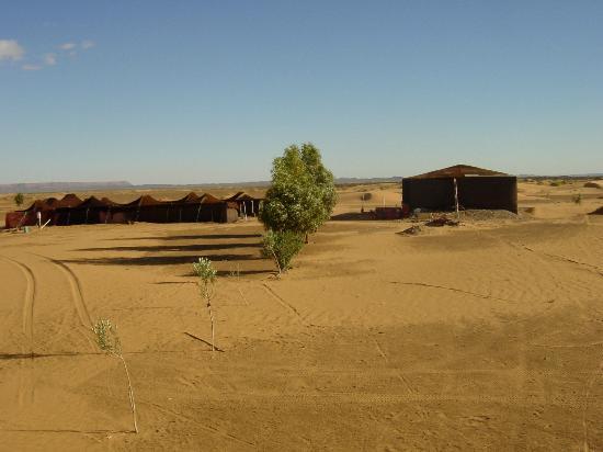 KemKemia Bivouac Erg Chebbi Merzouga: Kemkemia bivouac , in Erg Chebbi Merzouga desert Morocco
