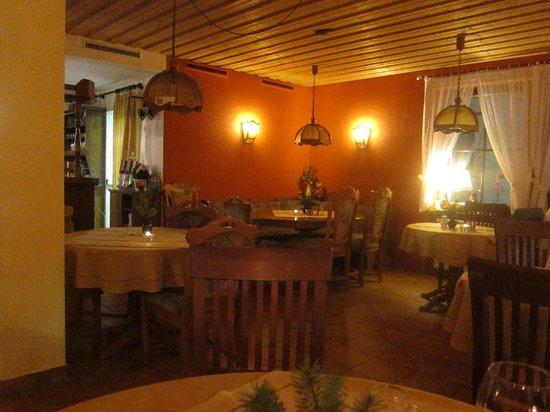 Gasthof Stadel: Restaurant area